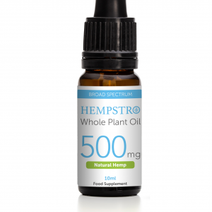 Hempstro Whole Plant CBD Oil 10ml 500mg - Natural Hemp